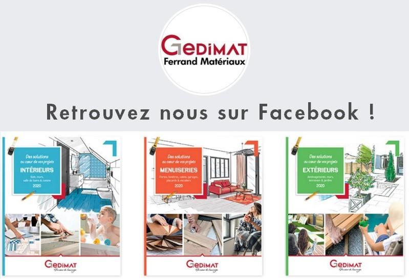 Gedimat Ferrand Matériaux sur facebook